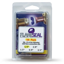 """1/4"""" Flare Seal Value 10 Pack"""