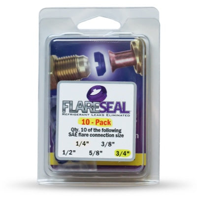 """3/4"""" Flare Seal Value 10 Pack"""