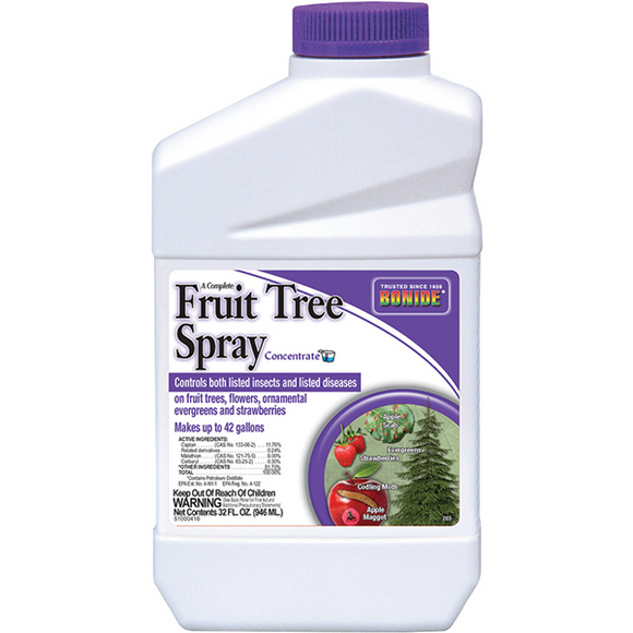 BONIDE FRUIT TREE SPRAY CONCENTRATE 1 QT