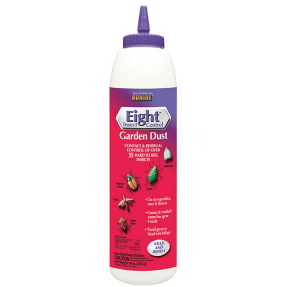BONIDE EIGHT INSECT CONTROL GARDEN DUST