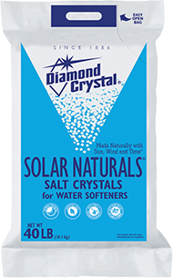 Diamond Crystal SOLAR NATURALS® WATER SOFTENER SALT CRYSTALS