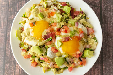 Diablo Brussels Sprouts Bacon Eggs