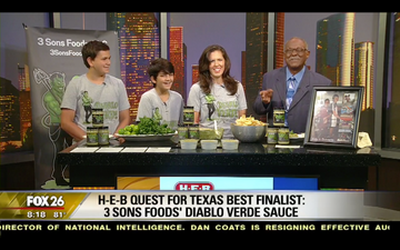 FOX 26 Houston - H-E-B QUEST FOR TEXAS BEST FINALIST