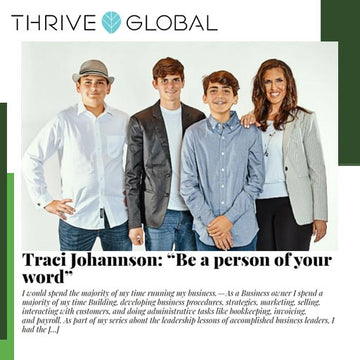 Thrive Global - Be a person of your word
