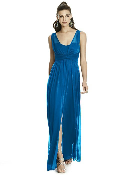 Empire waist full-length Bridesmaids Dress