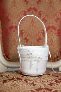 Flower Girl Basket Droplet flowers