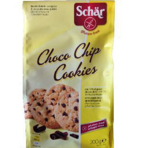 Cookies con chocolate chips 200 g Schar