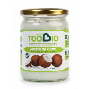 Aceite coco TOO BIO 450 ml BIO - Tu Vida Healthy