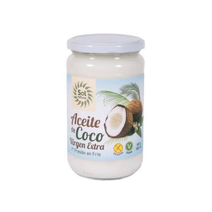 Aceite coco virgen extra SOL NATURAL 580 ml BIO - Tu Vida Healthy