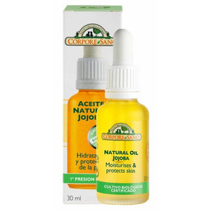 Aceite natural jojoba CORPORE SANO 30 ml - Tu Vida Healthy