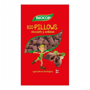 Biopillows choco avellana BIOCOP 300 gr BIO - Tu Vida Healthy
