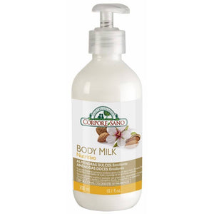 Body milk almendras dulces CORPORE SANO 300 ml - Tu Vida Healthy