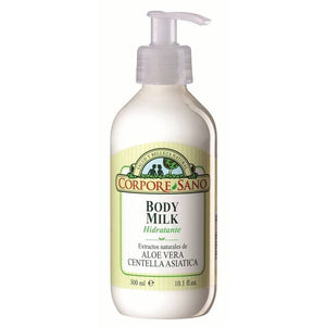 Body milk aloe vera CORPORE SANO 300 ml - Tu Vida Healthy