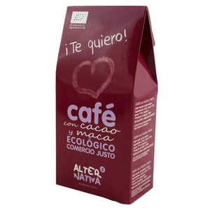 Cafe cacao maca molido ALTERNATIVA 3 125 gr BIO ¡Te quiero! - Tu Vida Healthy