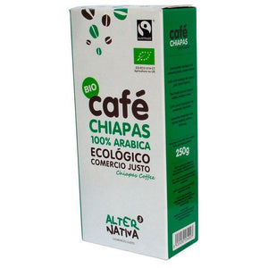 Cafe chiapas molido ALTERNATIVA 3 (250 gr) BIO - Tu Vida Healthy