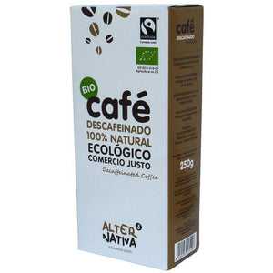 Cafe descafeinado molido ALTERNATIVA 3 (250 gr) BIO - Tu Vida Healthy