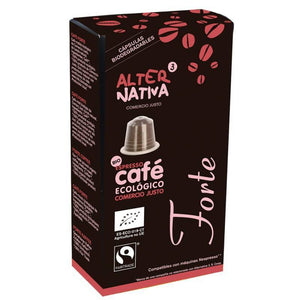 Cafe forte ALTERNATIVA 3 (10 capsulas) BIO - Tu Vida Healthy