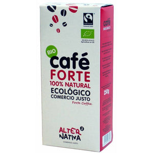 Cafe forte molido ALTERNATIVA 3 (250 gr) BIO - Tu Vida Healthy