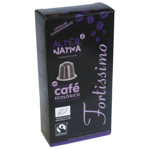 Cafe fortissimo ALTERNATIVA 3 (10 capsulas) BIO - Tu Vida Healthy