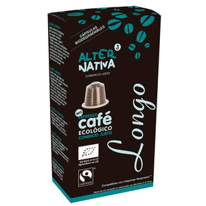 Cafe longo ALTERNATIVA 3 (10 capsulas) BIO - Tu Vida Healthy