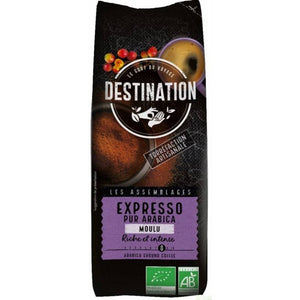 Cafe seleccion 100% arabica molido DESTINATION 250 gr - Tu Vida Healthy
