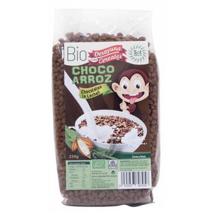 Cereales choco arroz SOL NATURAL 250 gr BIO - Tu Vida Healthy