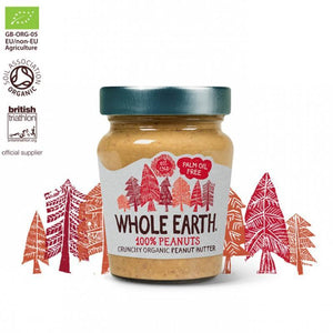 Crema cacahuete crunchy WHOLE EARTH 227 gr BIO - Tu Vida Healthy