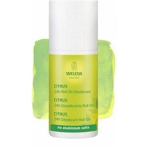 Desodorante roll-on citrus WELEDA 50 ml - Tu Vida Healthy