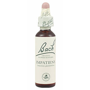 FLOR BACH impatiens 20 ml Nº18 - Tu Vida Healthy