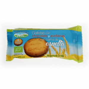 Galleta espelta rellena chocolate avellana BELSI 70 gr - Tu Vida Healthy