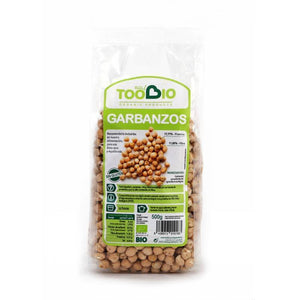 Garbanzos TOO BIO 500 gr BIO - Tu Vida Healthy