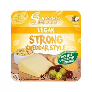 Queso cheddar curado CHEESE 200 gr - Tu Vida Healthy
