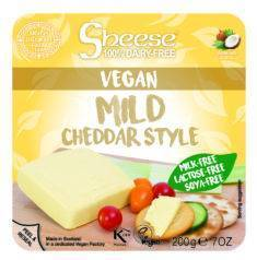 Queso cheddar mild CHEESE 220 gr (semi) - Tu Vida Healthy