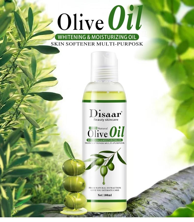 Olive Oil Essential Body Massage Oil (100ML)