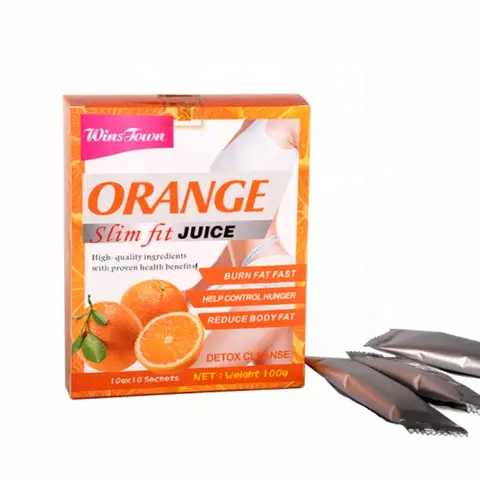 Orange Slim Fit Juice | Meal Replacement Juice