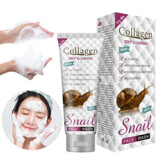 Snail Collagen Face Wash (100ML) | Oil Control, Exfoliation and Anti-Acne Face Wash