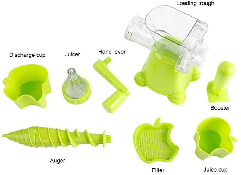 Nutritional Juice Machine | Multifunctional Manual Juicer
