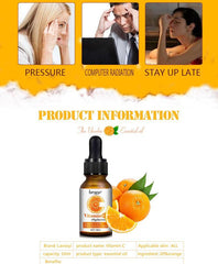 Vitamin C Face Serum with Hyaluronic Acid | Anti-Aging, Sunburn and Dark Spots Removal Oil