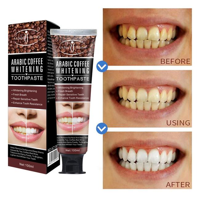 Arabic Coffee Toothpaste for Teeth Whitening | Oral Care