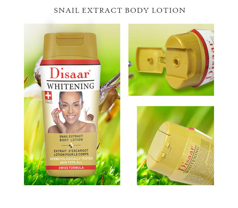 Snail Extract Body Lotion | Skin Care Moisturizing Cream