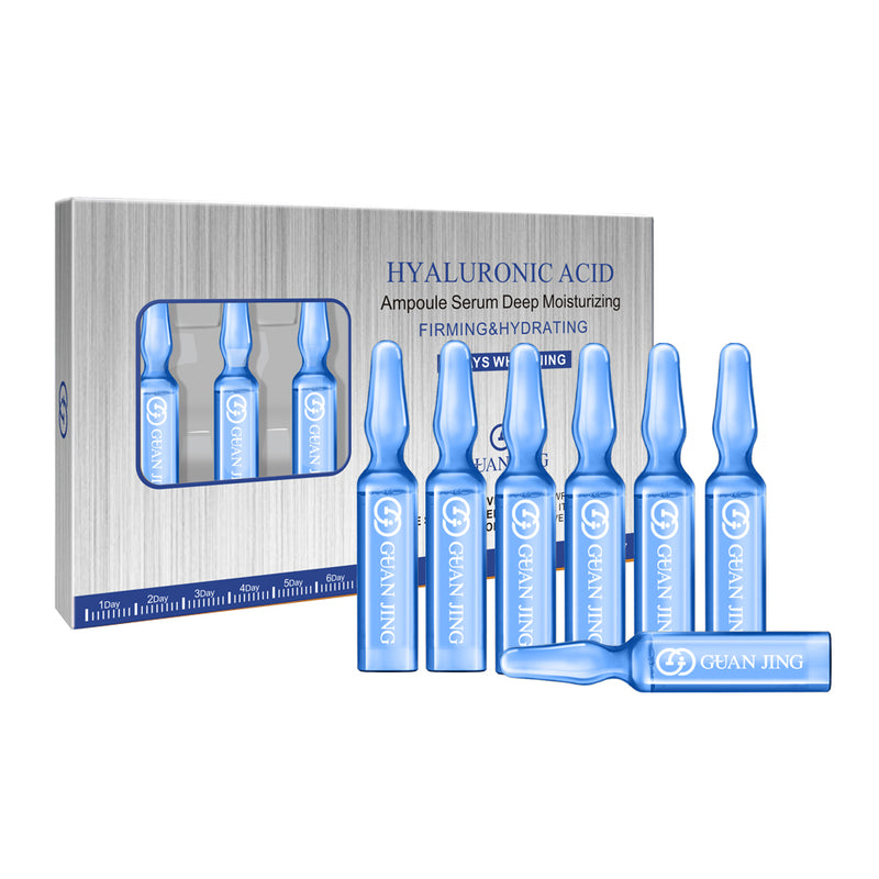 Hyaluronic Acid Ampoule Face Serum (7 Bottles) | Face Serum