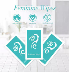 Feminine Wipes (1wipe/pack) | Vaginal Wet Wipes