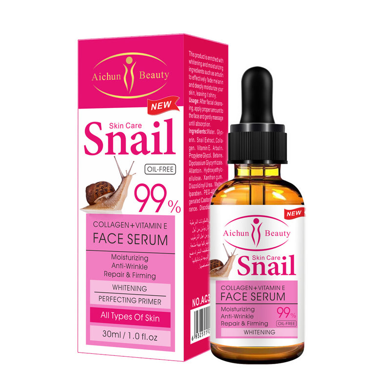 Snail Collagen Face Serum with Vitamin E