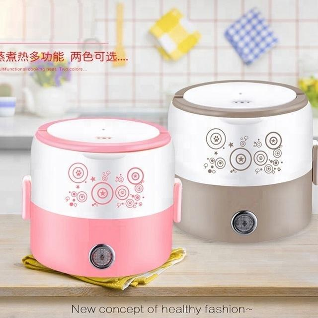 Electric Lunch Box with Single Layer | Electric Food Warmer