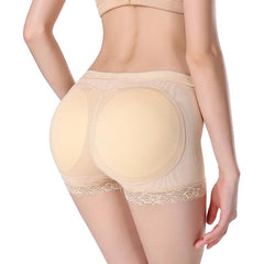 Padded Butt Lifter Panty | Underwear with Removable Butt Pads