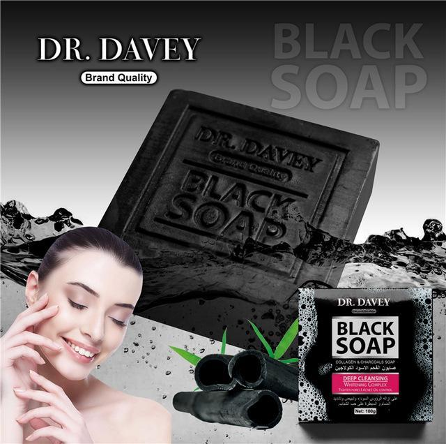 Bamboo Charcoal and Collagen Soap | Anti-Acne and Skin Moisturizing Black Soap