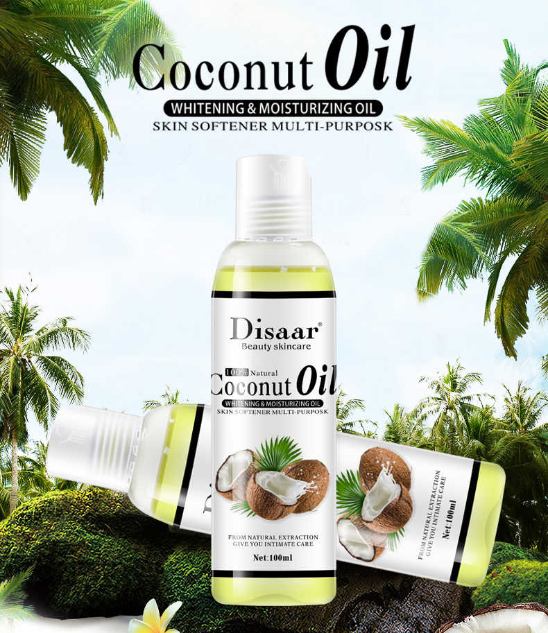 Coconut Oil Essential Body Massage Oil (100ML)