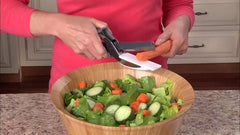 Stainless Steel Knife with Cutting Board | Clever Cutter - Ginax Store