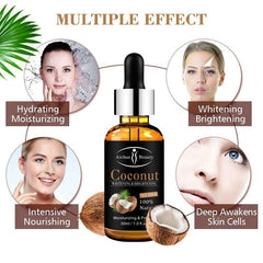 Coconut Face Serum | Anti-bacterial, Anti-Fungal and Moisturizing Face Oil