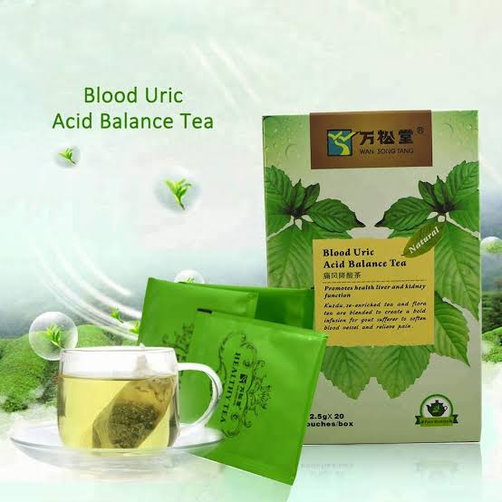 Blood Uric Acid Balance Tea | Anti-Arthritis and Gout Treatment Tea